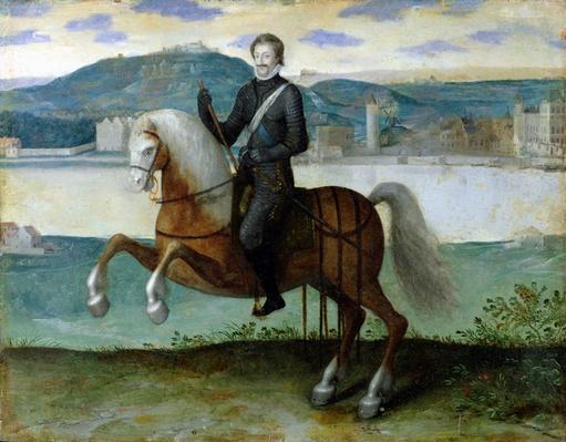Equestrian Portrait of Henri IV
