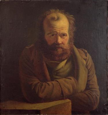 Portrait of Pierre Joseph Proudhon