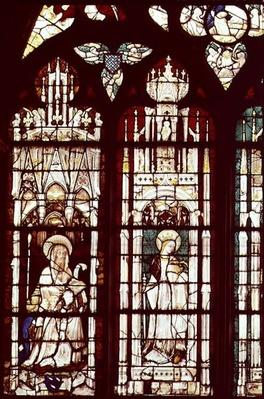 L-R: Simon Aligret and his Nephews with St. Simon and St. Catherine, from the Chapel of St. Joseph