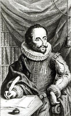 Portrait of Miguel de Cervantes Saavedra