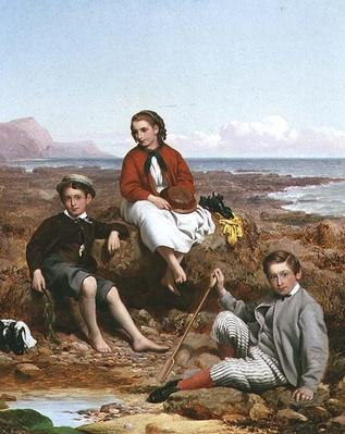 Florence, Arthur and Charles Moore, 1868