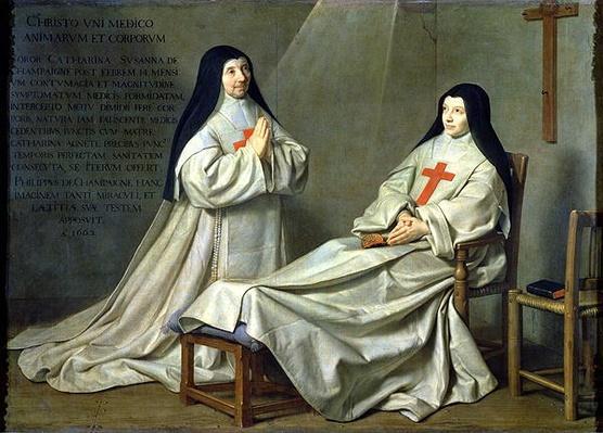 Portrait of Mother Catherine-Agnes Arnauld