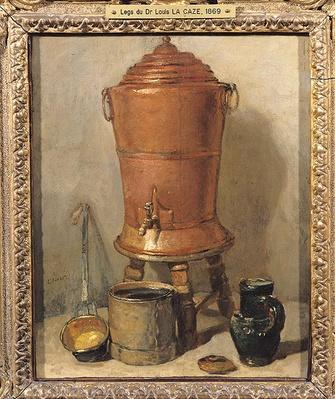 The Copper Drinking Fountain, c.1733-34