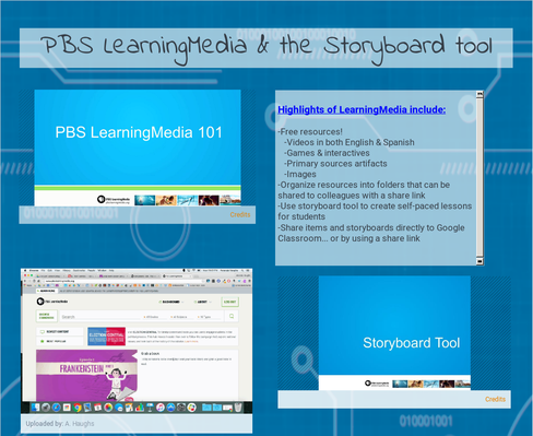 All about PBS LearningMedia & Storyboard tool