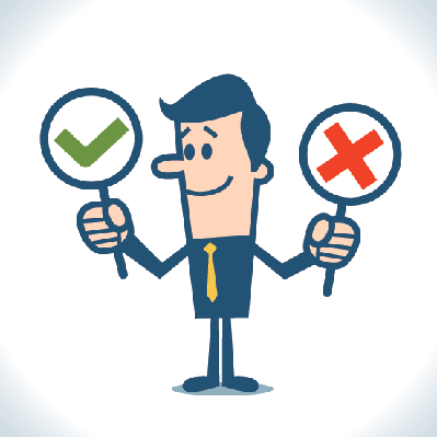 Right and Wrong | Clipart