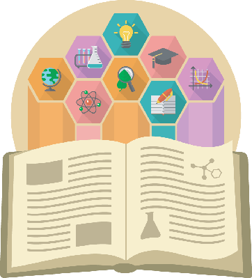 Book as a Source of Knowledge | Clipart