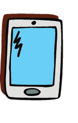 Electronics - Cell Phone 1 | Clipart