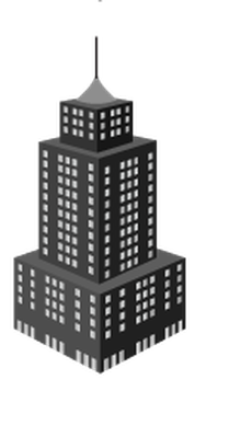 Skyscrapers in Perspective  - 2 of 8 | Clipart