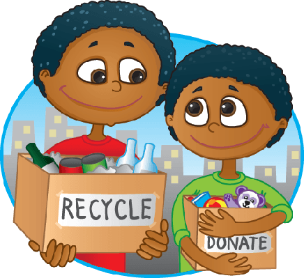 Reduce, Reuse, Recycle | Clipart