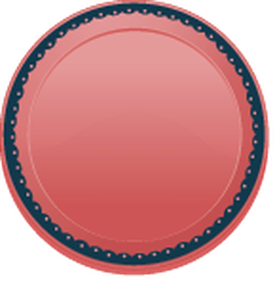 Colourful Plates - 1 | Clipart