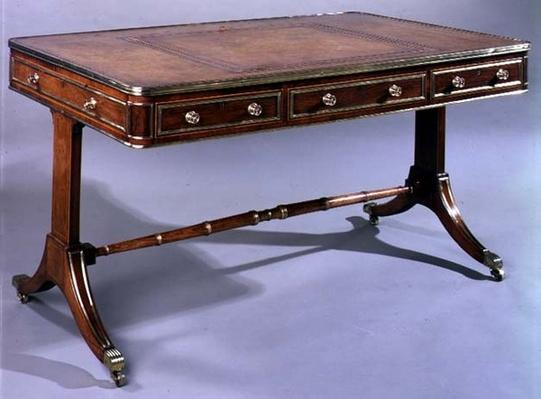 George III writing table, early 19th century