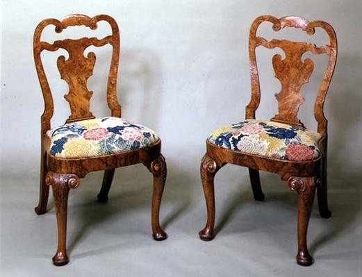 English side chairs, early 18th century