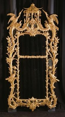 Carved mirror, c.1760