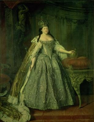 Portrait of the Empress Anna Ivanovna