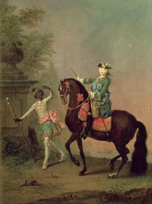 Portrait of Empress Elizabeth Petrovna