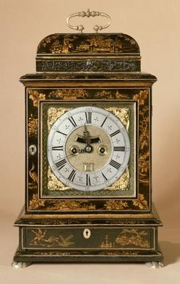 Bracket clock, movement by James Boyce, c.1705