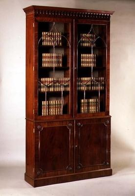 George II bookcase, 18th century