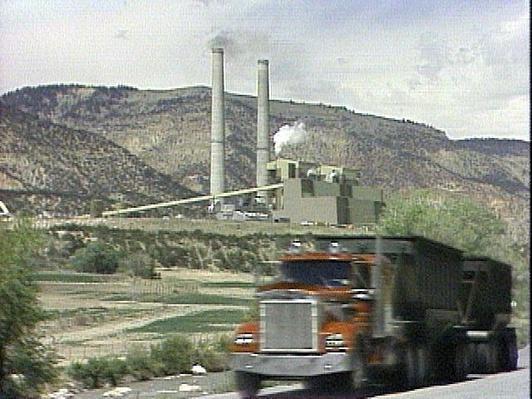 Huntington Coal Power Plant   Images of Utah