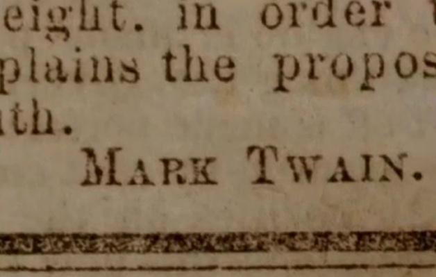 Samuel Clemens Takes a Pen Name   Ken Burns: Mark Twain