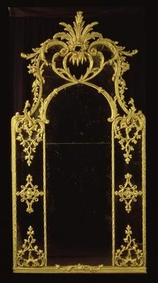 Chippendale mirror, c.1750