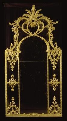 Chippendale mirror, c.1750