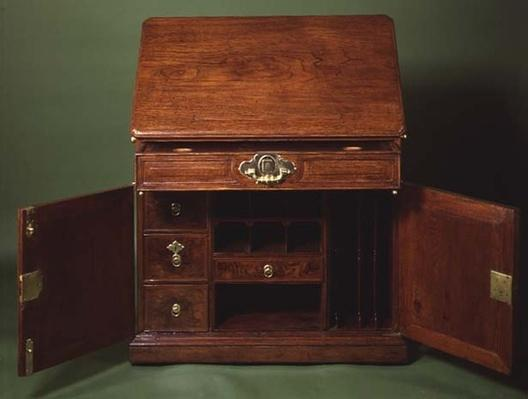 Writing desk, late 18th century