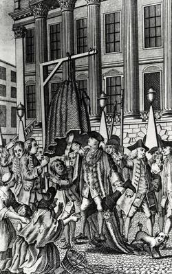 The Rape of the Petti-coat, 1768