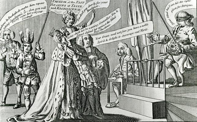Trial of the Sovereign Empress of the Vast Regions of Taste, 1771