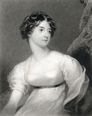 The Rt. Hon, Frances Cpuntess of Wicklow, engraved by W. Say after a painting by G. Harlow, 1830