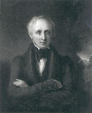 William Wordsworth, engarved by J. Conchran after a painting by W. Boxall, 19th Century