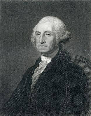 George Washington, engraved by W. Humphreys from a picture by Gilbert Stewart, 19th Century