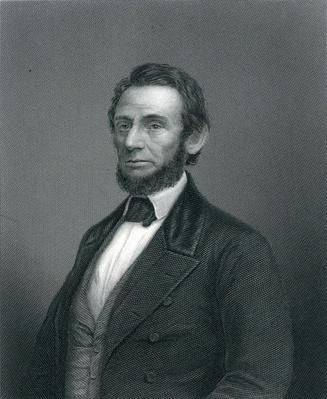 Abraham Lincoln, engraved by H. C. Balding, 19th Century