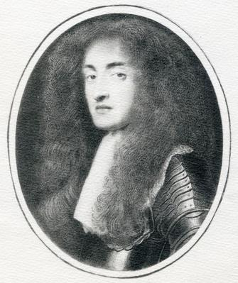 James II when Duke of York, after a miniature by Samuel Cooper, 17th Century