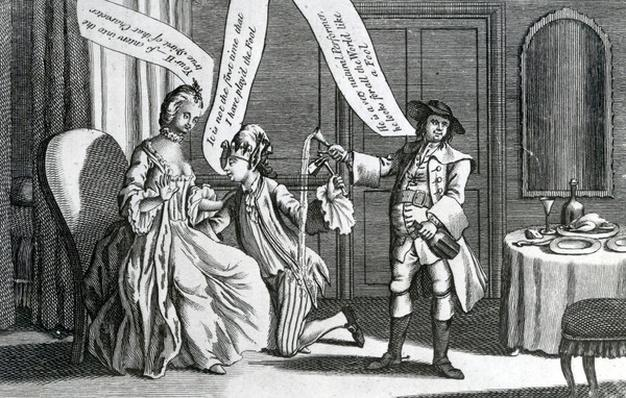 A Certain Personage in the Character of a Fool as he perform'd it at Whitchurch & elsewhere, 1770
