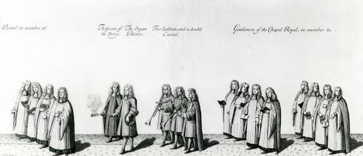 Gentlemen of the Royal Chapel, 1687