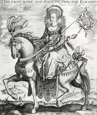 The Right Noble and Verteous Princesse Elizabeth, daughter to our soverainge lord kinge James, 1612-1613