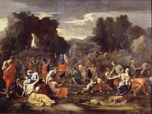 The Gathering of Manna, c.1637-9