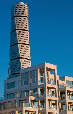Turning torso in dawn | Monuments and Buildings