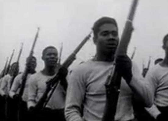 African-American Troops Training | Ken Burns: The War