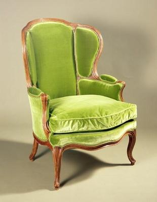 French bergere chair, c.1725