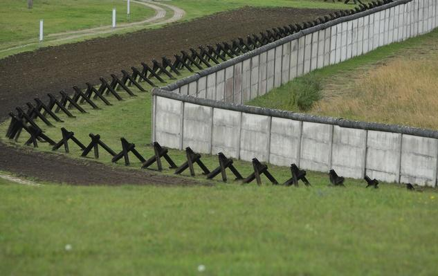 Former East German Border Crossing At Hoetensleben | Berlin Wall | The 20th Century Since 1945: Postwar Politics