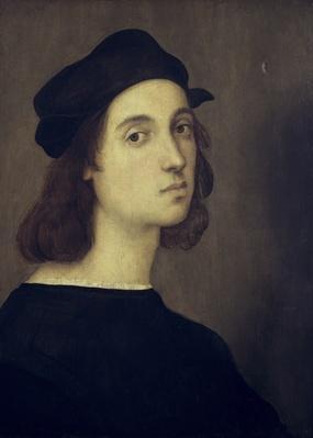 Self Portrait by Raphael, oil on wood panel | Famous Architects