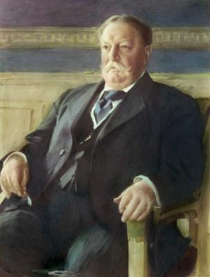 William Howard Taft by Anders Leonard Zorn | American Presidential Portraits