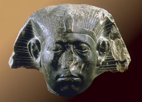 Portrait head of Sesostris III