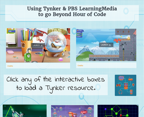 Using Tynker & PBS LearningMedia  to go Beyond Hour of Code