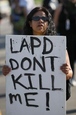 March Against Police Brutality Held In Los Angeles | Civility & Brutality | The 20th Century Since 1945: Civil Rights & the New Millennium