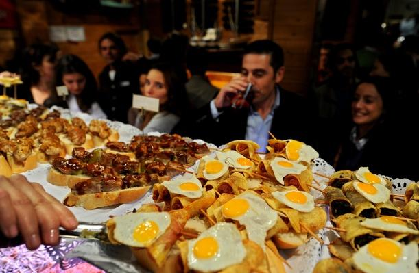 Spaniards Fall Back On Tapas Bars In Harder Times | Exploring International Cuisine