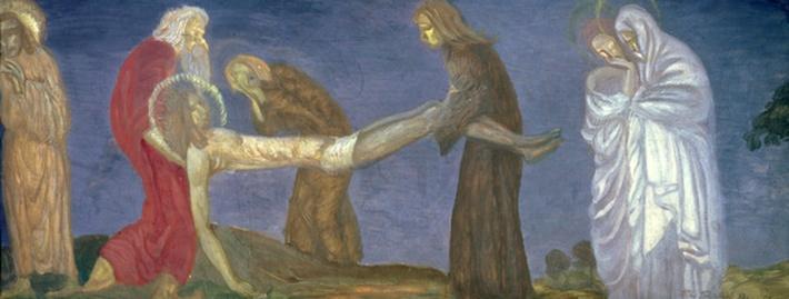 The Entombment, 1913