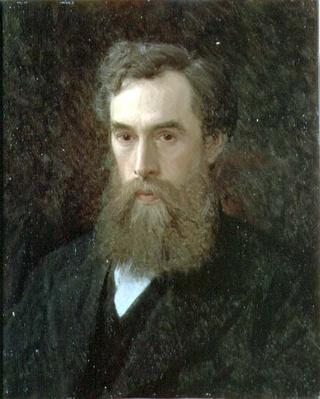 Portrait of Pavel Mikhailovich Tretyakov