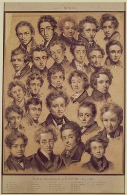 Twenty Five Pupils from the Studio of Antoine Jean Gros